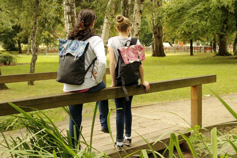 Dámské módní batůžky do města - originální designové vzory 709c641e86